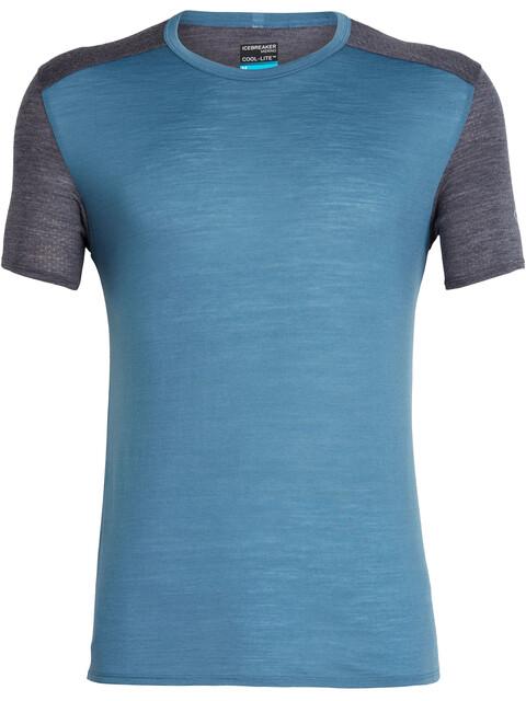 Icebreaker Amplify - Camiseta Running Hombre - azul